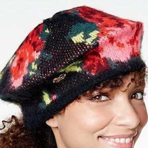 BETSEY JOHNSON Vintage Bouquet Beret